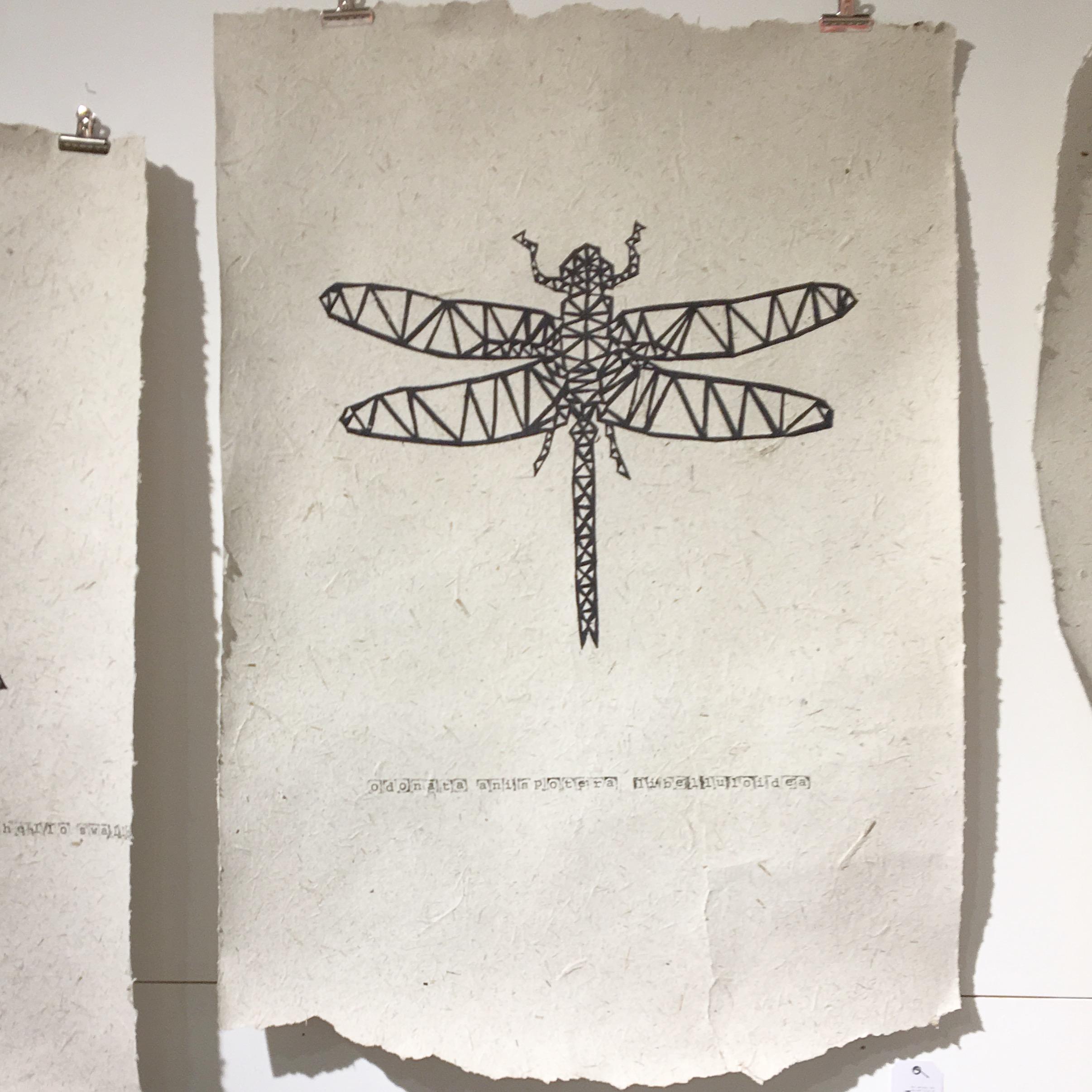 NAdesign poster olifantenpoep libelle