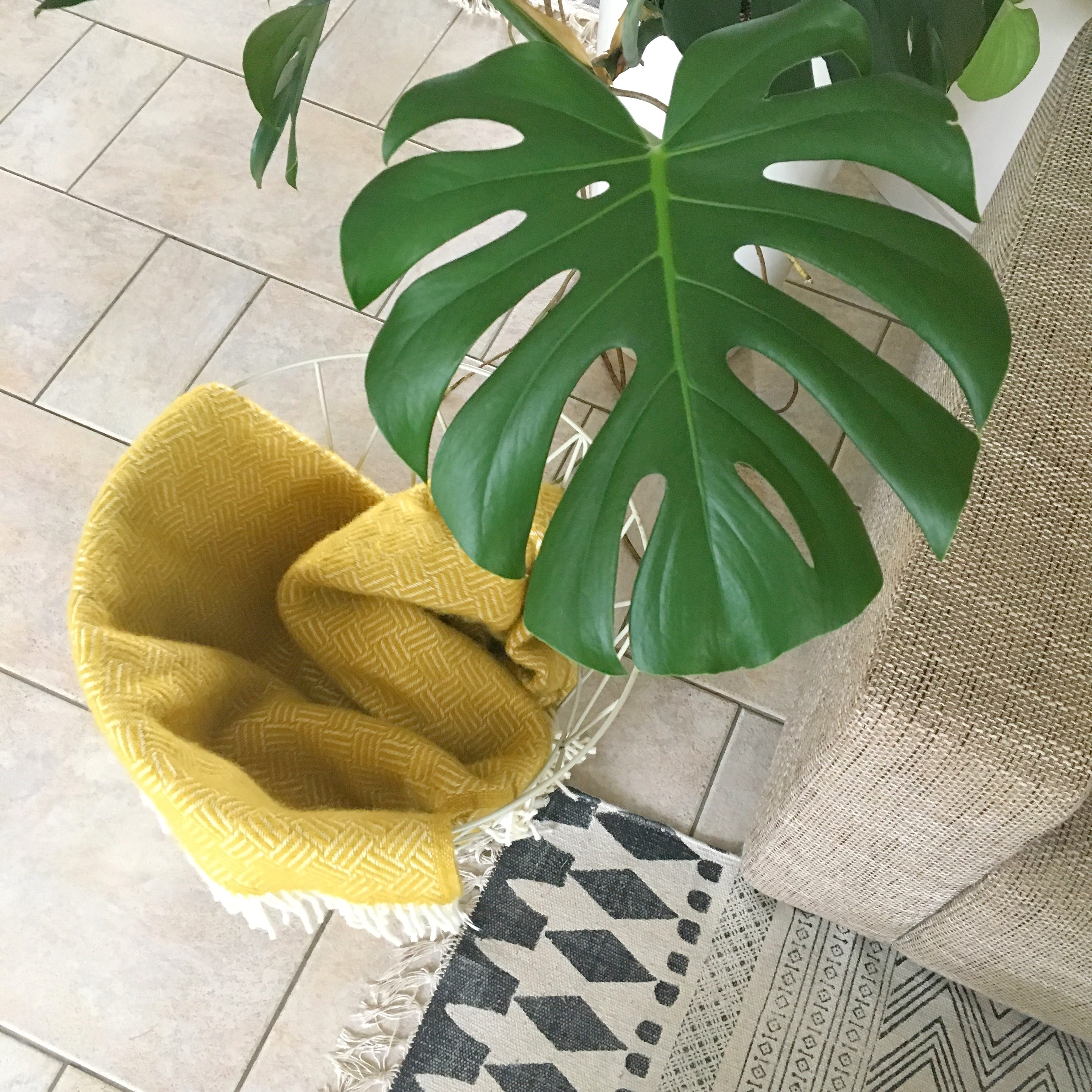 geel woonplaid klippan samba